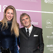 NLD/Amsterdam/20180213 - Edison Pop Awards 2018, Annemieke Schollaardt en partner Phill Tilli