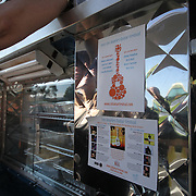1st Annual Los Angeles Guitar Festival, July 2011.  Barbie's Q food truck.