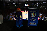 27/11/2017 FIBA World cup qualification game: Australia vs Japan at Titanium Arena, Adelaide. Photos by James Elsby/AllStar Photos