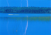 Lightning at Child's Lake<br />
