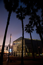 January 6, 2010; San Jose, CA, USA; Exterior of the HP Pavilion before the game between the St. Louis Blues and the San Jose Sharks. San Jose defeated St. Louis 2-1 in overtime. Mandatory Credit: Jason O. Watson / US PRESSWIRE