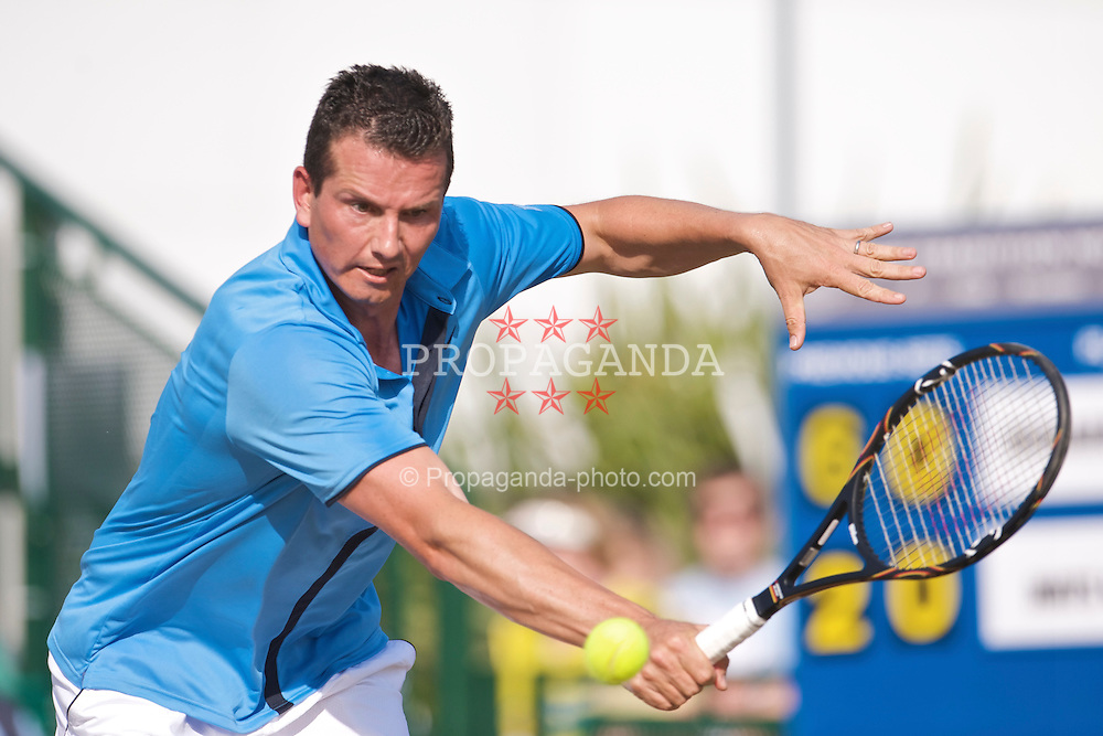 NOTTINGHAM, ENGLAND - Saturday, June 13, 2009: Richard Krajicek (NED) on day three of the Tradition Nottingham Masters tennis event at the Nottingham Tennis Centre. (Pic by David Rawcliffe/Propaganda)