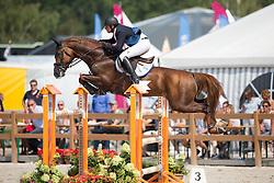 Keunen Pieter, (NED), Don Diablo HX<br /> Finale 7 jarige springpaarden <br /> KWPN Paardendagen Ermelo 2015<br /> © Hippo Foto - Leanjo de Koster