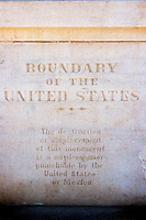United States Boundary Marker, Border Field State Park, California