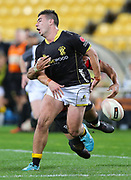 Lions Jackson Garden-Bachop during the Mitre 10 Cup rugby match between the Wellington Lions & Canterbury at Westpac Stadium, Wellington. Friday 23rd August 2019. Copyright Photo: Grant Down / www.Photosport.nz
