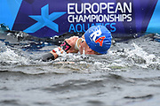 David Aubry (FRA) competes on Men's 25 kms Open Water final during the Swimming European Championships Glasgow 2018, at Tollcross International Swimming Centre, in Glasgow, Great Britain, Day 11, on August 12, 2018 - Photo Stephane Kempinaire / KMSP / ProSportsImages / DPPI