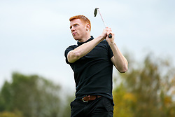 Rory Gaffney joins Bristol Irish Golf Society as they take part in the Annual Bristol Rovers Golf Day - Rogan/JMP - 09/10/2017 - GOLF - Farrington Park - Bristol, England - Bristol Rovers Golf Day.