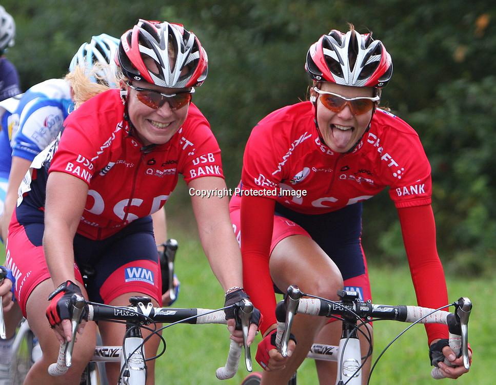 Ladiestour 2008 Hellendoorn<br />DSB Adrie Visser, Danielle Bekkering