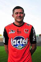 Malik Couturier - 17.09.2014 - Photo officielle Laval - Ligue 2 2014/2015<br /> Photo : Philippe Le Brech / Icon Sport