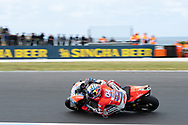 PHILLIP ISLAND, VIC - OCTOBER 27: Ducati Team rider Andrea Dovizioso (4) in morning practice during The 2018 Australian MotoGP at The Phillip Island Circuit in Victoria, Australia on October 27, 2018. (Photo by Speed Media/Icon Sportswire)