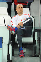 Dimitar BERBATOV - 14.04.2015 - Juventus Turin / Monaco - 1/4Finale aller Champions League<br /> Photo : Jean Paul Thomas / Icon Sport