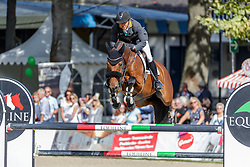 FUKUSHIMA Daisuke (JPN), Calouso 2<br /> Paderborn - OWL Challenge 5. Etappe BEMER Riders Tour 2019<br /> Großer Preis von Paderborn (CSI3*)<br /> Springprüfung mit 2 Umläufen, international <br /> BEMER Riders Tour, Wertungsprüfung 5. Etappe <br /> 15. September 2019<br /> © www.sportfotos-lafrentz.de/Stefan Lafrentz