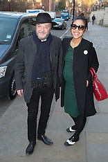 MAR 19 2014 George Galloway and wife
