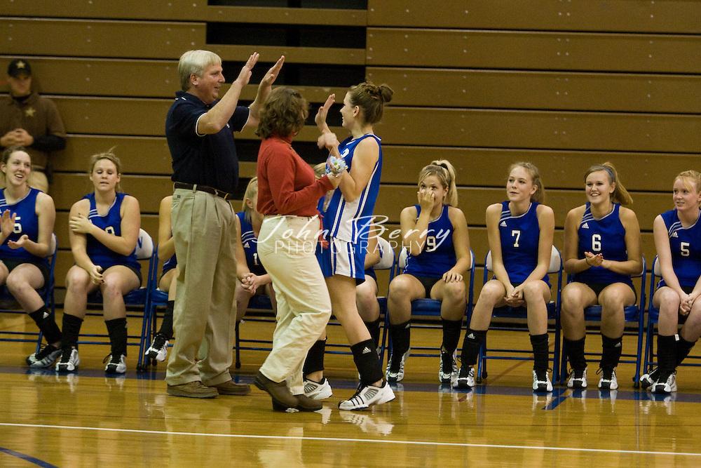 MCHS Varsity Volleyball.vs Manassas Park.10/25/2007..