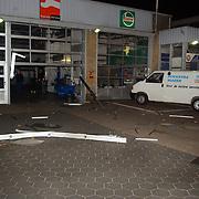 Snelkraak diefstal 3 auto's Hoekstra VW / Audi dealer Ambachtsweg Huizen