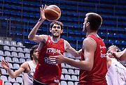 DESCRIZIONE : Qualificazioni EuroBasket 2015 - Allenamento <br /> GIOCATORE : Davide Pascolo<br /> CATEGORIA : nazionale maschile senior A <br /> GARA : Qualificazioni EuroBasket 2015 - Allenamento<br /> DATA : 12/08/2014 <br /> AUTORE : Agenzia Ciamillo-Castoria