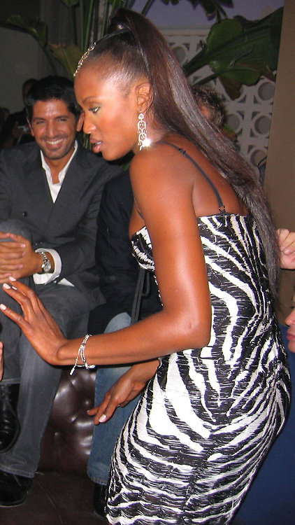 Naomi Campbell<br />Rosa Cha Post Party Hosted By Naomi Campbell<br />PM Lounge<br />New York City, NY, USA<br />Saturday, September, 13, 2003<br />Photo By Celebrityvibe.com/Photovibe.com