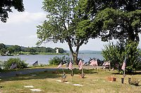 Riverview Cemetary along the Connecticut River, Essex, CT