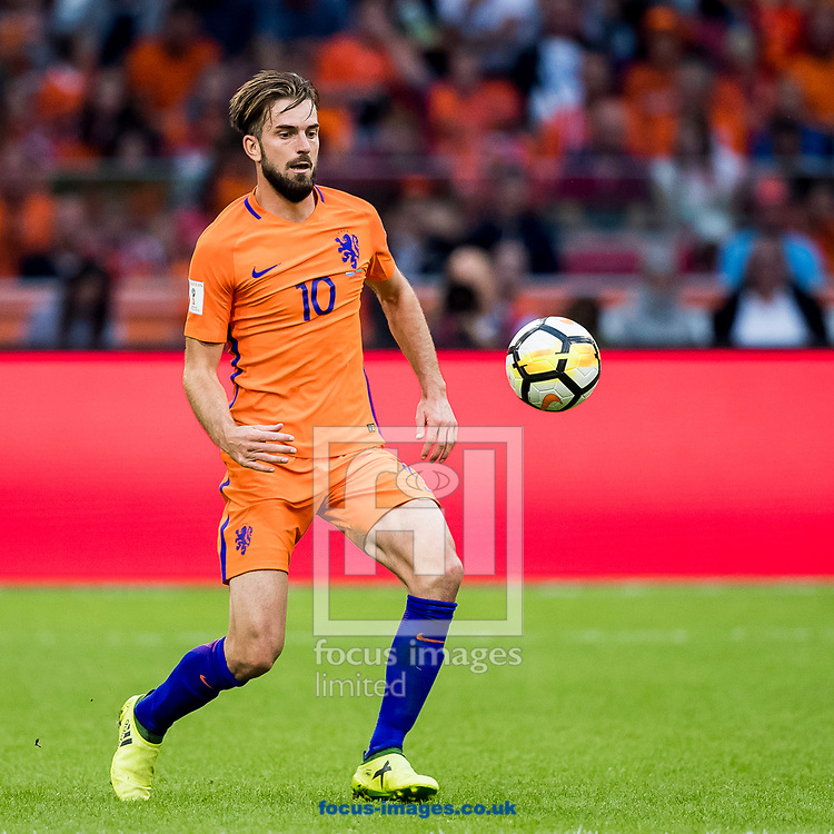 Davy Propper of Netherlands during the 2018 FIFA World Cup Qualifying match at Amsterdam Arena, Amsterdam<br /> Picture by Joep Joseph Leenen/Focus Images Ltd +316 5261929<br /> 03/09/2017<br /> ***NETHERLANDS OUT***