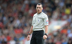 Referee Neil Swarbrick  - Mandatory byline: Alex James/JMP - 07966386802 - 29/08/2015 - FOOTBALL - Dean Court -Bournemouth,England - AFC Bournemouth v Leicester City - Barclays Premier League