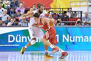 DESCRIZIONE : Berlino Berlin Eurobasket 2015 Group B Turkey Italy <br /> GIOCATORE : Cedi Osman<br /> CATEGORIA : Controcampo penetrazione difesa<br /> SQUADRA : Turkey<br /> EVENTO : Eurobasket 2015 Group B <br /> GARA : Turkey Italy<br /> DATA : 05/09/2015 <br /> SPORT : Pallacanestro <br /> AUTORE : Agenzia Ciamillo-Castoria/Mancini Ivan<br /> Galleria : Eurobasket 2015 <br /> Fotonotizia : Berlino Berlin Eurobasket 2015 Group B Turkey Italy