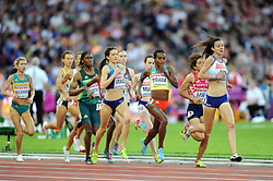 Jessica Judd of Great Britain in action - Mandatory byline: Patrick Khachfe/JMP - 07966 386802 - 05/08/2017 - ATHLETICS - London Stadium - London, England - Women's 1,500m Semi Final - IAAF World Championships