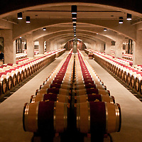 Mondavi Winery Casks