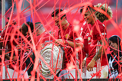 Manchester United win the FA Community Shield beating Leicester City 2-1 - Mandatory byline: Jason Brown/JMP - 07966386802 - 07/08/2016 - FOOTBALL - Wembley Stadium - London, England - Leicester City v Manchester United - FA Community Shield