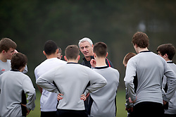 CARDIFF, WALES - Thursday, March 15, 2012: Ian Rush (Elite Performance Director) during a training session at the Glamorgan Sports Park. (Pic by David Rawcliffe/Propaganda)