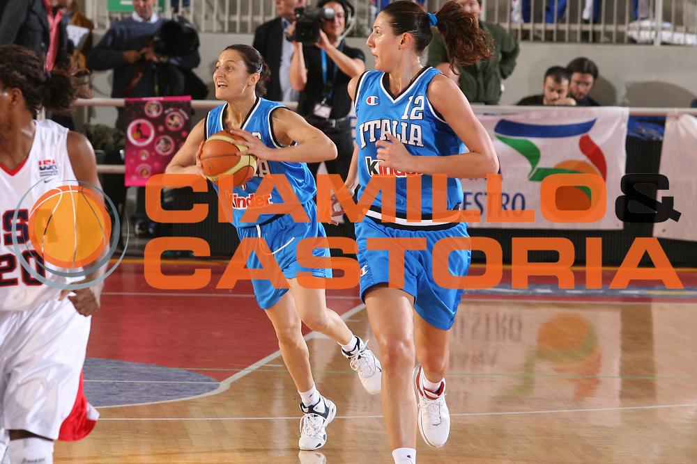DESCRIZIONE : Roma Amichevole Femminile Italia Usa <br /> GIOCATORE : Cirone <br /> SQUADRA : Nazionale Italiana Femminile <br /> EVENTO : Amichevole Femminile Italia Usa <br /> GARA : Italia Usa <br /> DATA : 11/04/2007 <br /> CATEGORIA : Passaggio <br /> SPORT : Pallacanestro <br /> AUTORE : Agenzia Ciamillo-Castoria/G.Ciamillo