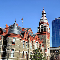 Old Pulaski County Courthouse and Stephens Buildings in Little Rock, Arkansas<br />