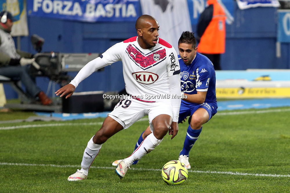 Nicolas MAURICE BELAY - 24.01.2015 - Bastia / Bordeaux  - 22eme journee de Ligue1<br /> Photo : Michel Maestracci / Icon Sport *** Local Caption ***