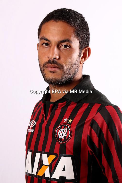 Brazilian Football League Serie A / <br /> ( Clube Atletico Paranaense ) - <br /> Ytalo Jose Oliveira dos Santos &quot; Ytalo &quot;