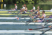 Banyoles, SPAIN,   GBR M2X-,  bow [right]  Matt WELLS and Steve ROWBOTHAM, moving away from the start, during their heat of the  Men's Double Sculls, at the  FISA World Cup Rd 1. Lake Banyoles Friday 29/05/2009   [Mandatory Credit. Peter Spurrier/Intersport Images]