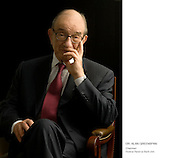 Portrait of Alan Greenspan, Washington D.C