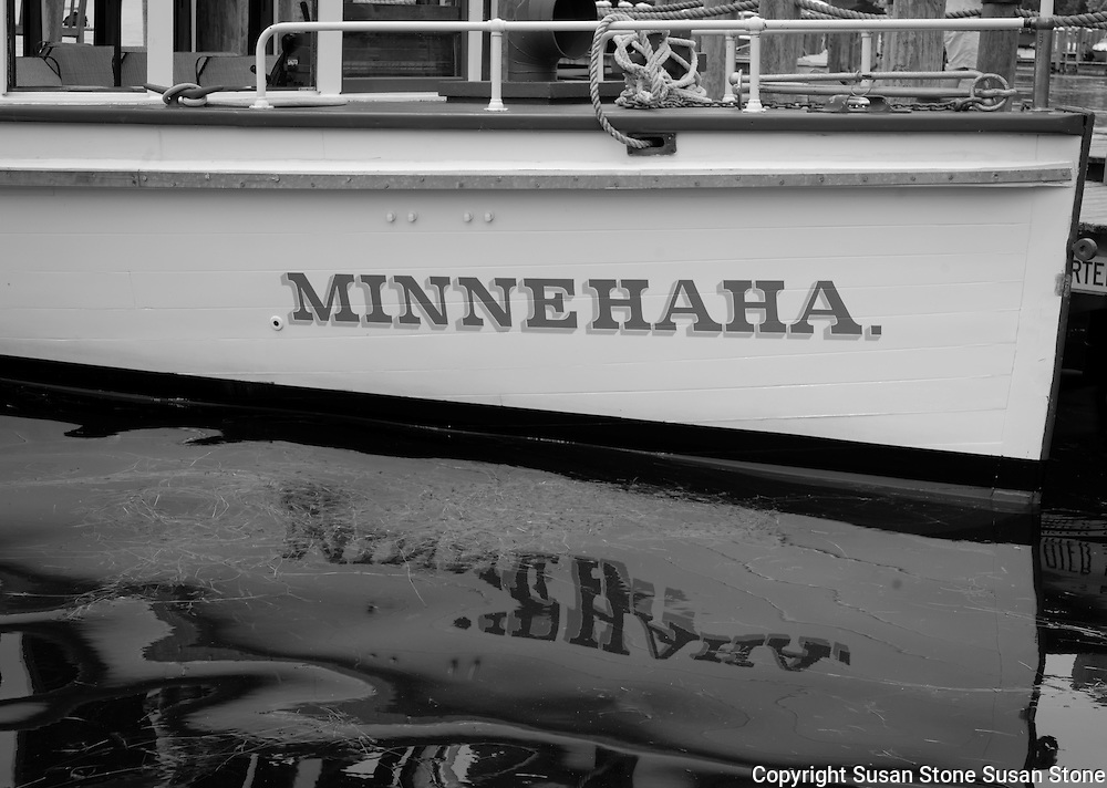 black and white boating image from Lake Minnetonka. Lake Minnetonka, Minnesota black and white  photos