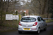 General View of the entrance to Boris Berezovsky's home Titness Park in Ascot on Sunday 24, March 2013....Yesterday Berezovsky was found dead at his home aged 67............................................Not Reuters,Getty,AP,AFP,PA