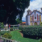 Santa Maria del Tule. Oaxaca, Mexico.