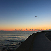 Today's Winter Sunrise  at Narragansett Town Beach, Narragansett, RI,  December 25, 2013. #beach #sunrise #rhodeisland
