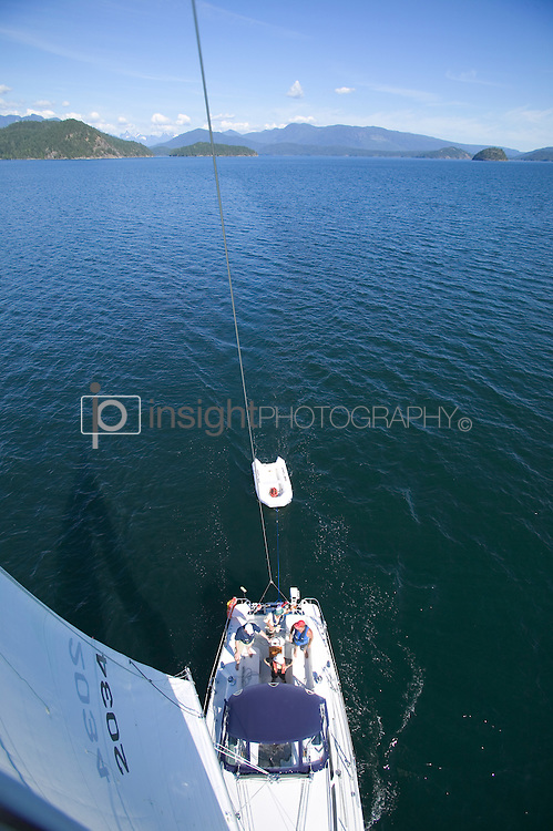 Sailing in Desolation Sound. Photo By: Greg Eymundson / insight-photography.com