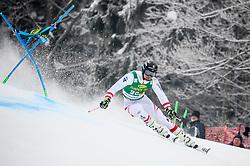 Johannes Strolz of Austria competes during 1st run of Men's GiantSlalom race of FIS Alpine Ski World Cup 57th Vitranc Cup 2018, on March 3, 2018 in Kranjska Gora, Slovenia. Photo by Ziga Zupan / Sportida