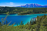 Emerald Lake, Carcross, British Columbia, Canada