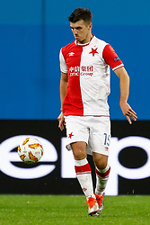 October 4, 2018 - Saint Petersburg, Russia - Ondrej Kudela of SK Slavia Prague in action during the Group C match of the UEFA Europa League between FC Zenit Saint Petersburg and SK Sparta Prague at Saint Petersburg Stadium on October 4, 2018 in Saint Petersburg, Russia. (Credit Image: © Mike Kireev/NurPhoto/ZUMA Press)