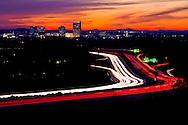 Greenville Skyline at Twilight - Greenville, SC