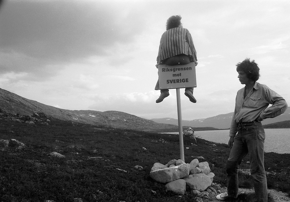 Vid gränsen mellan Norge och Sverige
