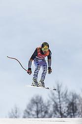 February 15, 2018 - Jeongseon, Gangwon, South Korea - Josef Ferstl of Germany competing in mens downhill at Jeongseon Alpine Centre at Jeongseon , South Korea on February 15, 2018. (Credit Image: © Ulrik Pedersen/NurPhoto via ZUMA Press)