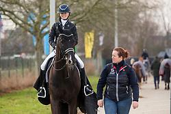 Fry Charlotte, GBR, Dark Legend<br /> Jumping Mechelen 2019<br /> © Hippo Foto - Sharon Vandeput<br /> 28/12/19