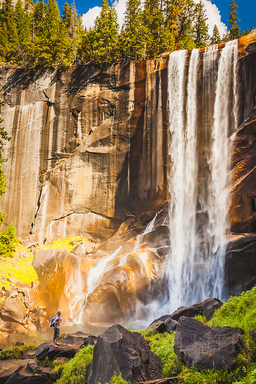Vernal Falls, Mist Trail, Yosemite National Park, California