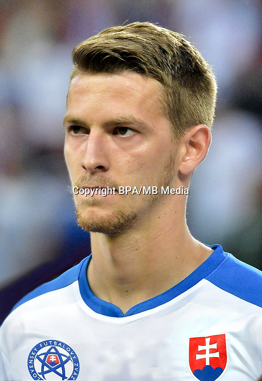 Uefa - World Cup Fifa Russia 2018 Qualifier / <br /> Slovakia National Team - Preview Set - <br /> Patrik Hrosovsky