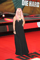 Amelia Lily, A Good Day To Die Hard - UK Film Premiere, Empire Cinema Leicester Square, London UK, 07 February 2013, (Photo by Richard Goldschmidt)